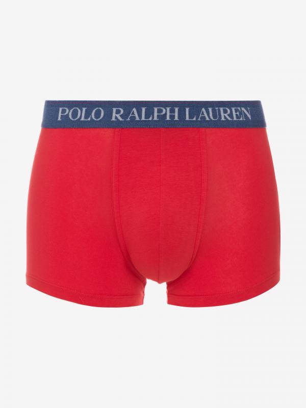 Boxerky Polo Ralph Lauren Červená