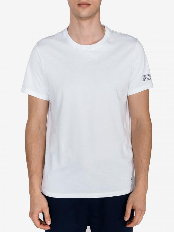 Triko na spaní Polo Ralph Lauren Bílá