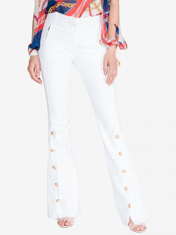 Alisso Kalhoty Pinko Bílá