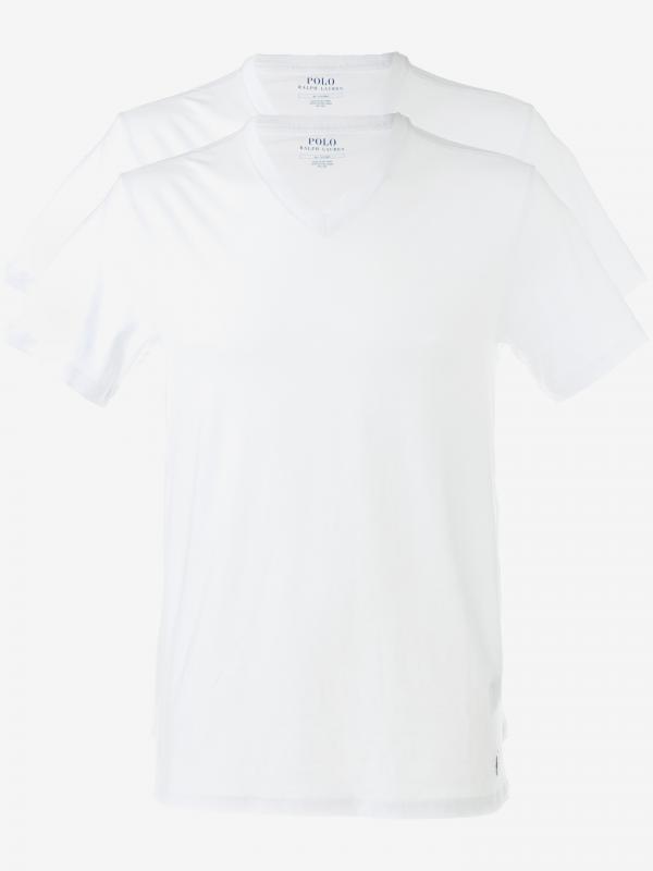 Spodní triko 2 ks Polo Ralph Lauren Bílá