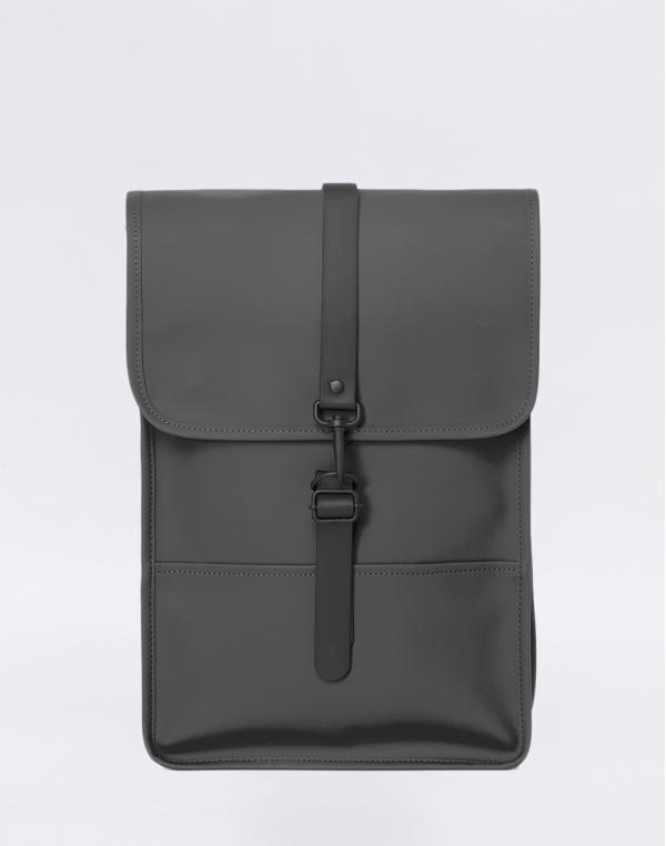 Rains Backpack Mini 18 Charcoal
