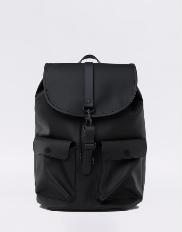 Rains Camp Backpack 01 Black