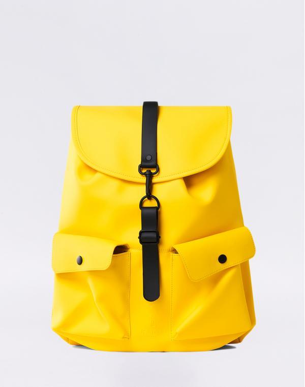 Rains Camp Backpack 04 Yellow