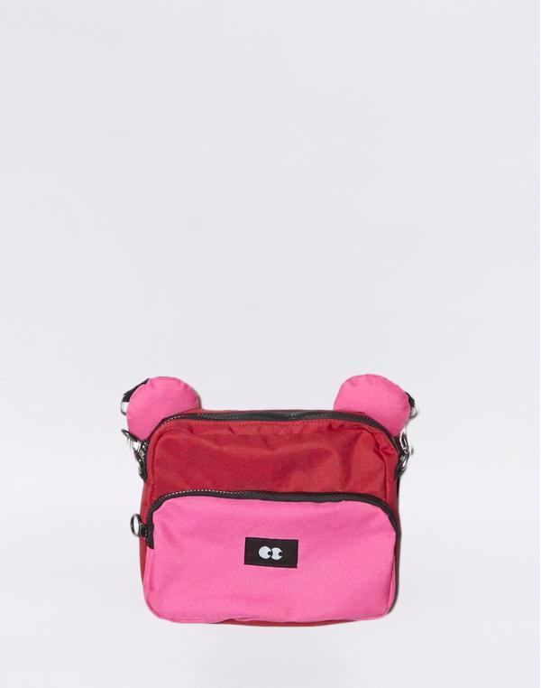 Lazy Oaf Valentine Bear Bag Red