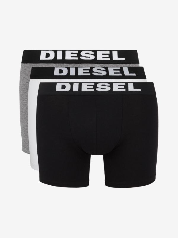 Boxerky Diesel Umbx-Sebastianthreepac Boxer Long 3Pack Barevná
