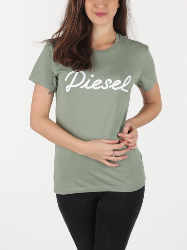 Tričko Diesel T-Sully-Ah-B Maglietta Zelená