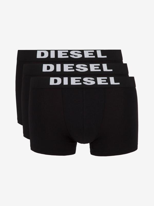 Boxerky Diesel Umbx-Roccothreepack Boxer 3Pack Černá