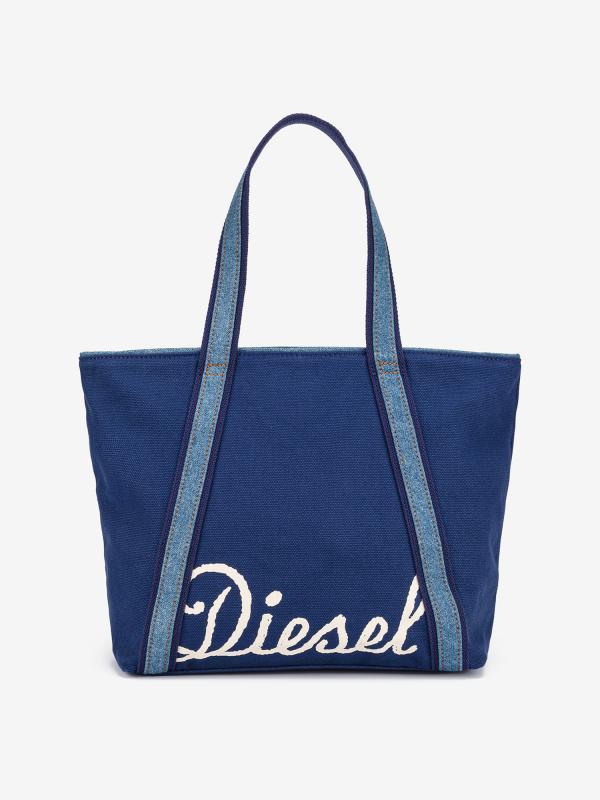 Taška Diesel Canvas Jp Canvas Bag Jp S - Shopping Bag Modrá
