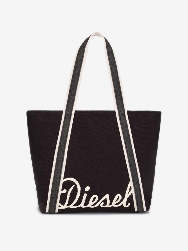Taška Diesel Canvas Jp Canvas Bag Jp S - Shopping Bag Černá