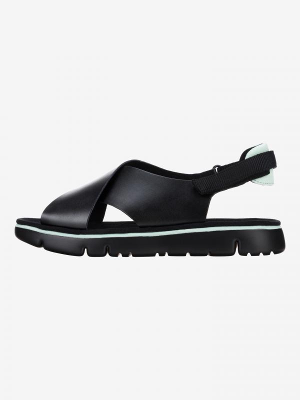 Oruga Sandále Camper Černá