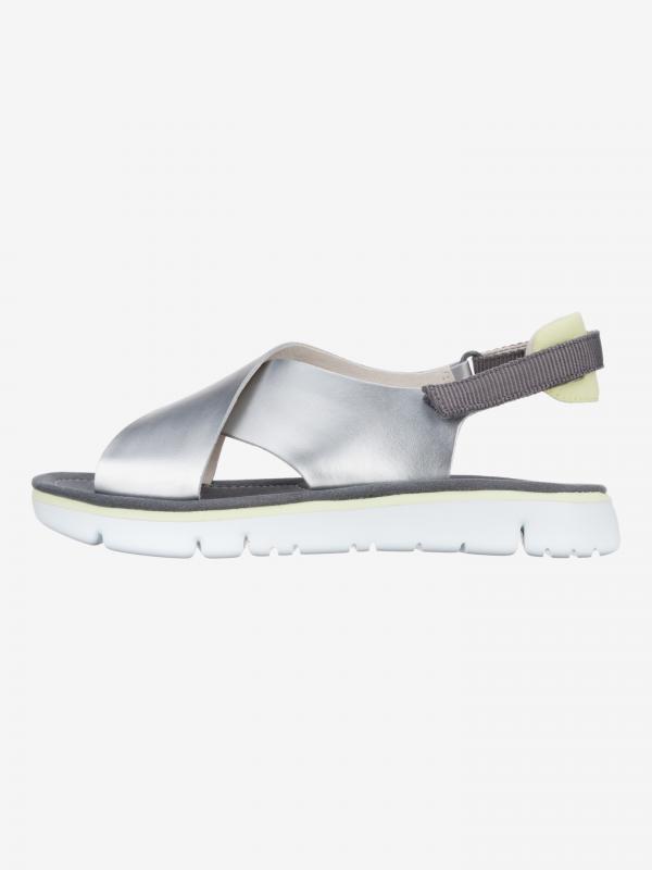 Oruga Sandále Camper Stříbrná