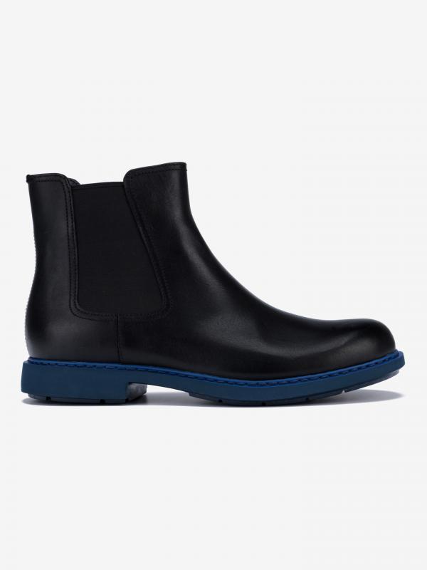 Kotníková obuv Camper Černá