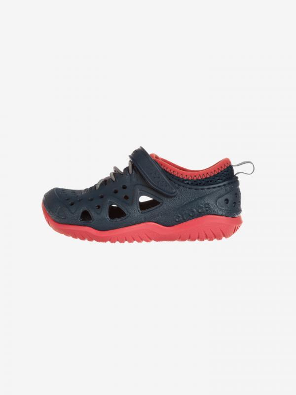 Swiftwater Play Crocs dětské Crocs Modrá