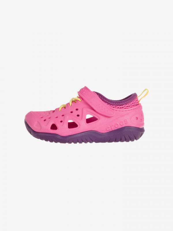 Swiftwater Play Crocs dětské Crocs Růžová