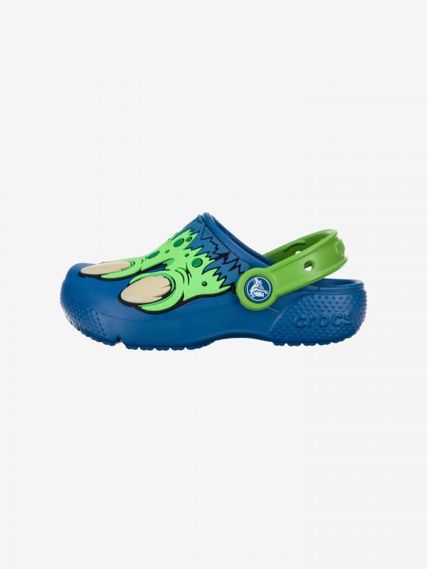 Fun Lab Creature Crocs dětské Crocs Modrá