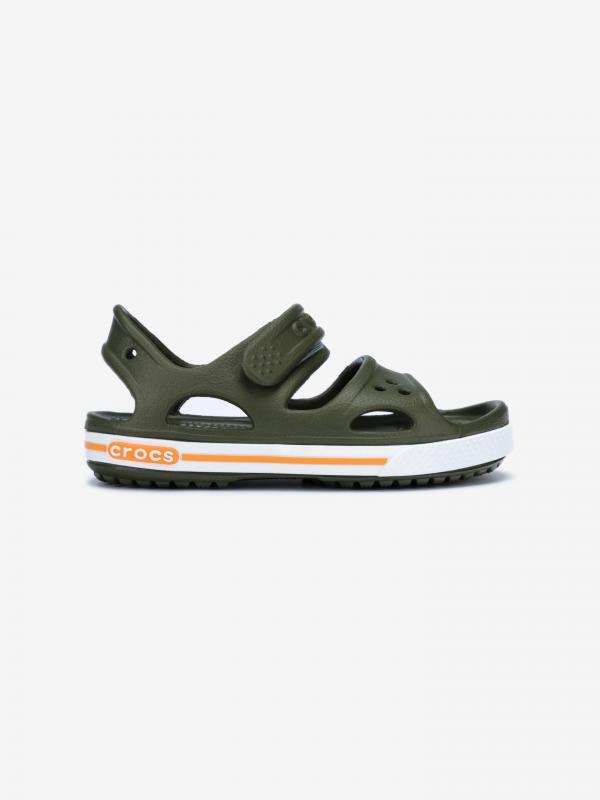 Crocband™ II Sandále dětské Crocs Zelená