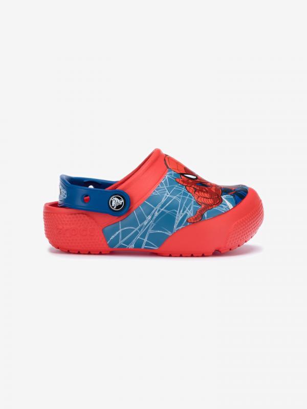 Fun Lab Spider-Man Crocs dětské Crocs Modrá