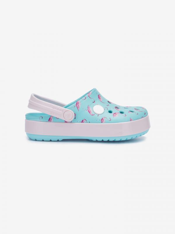 Crocband™ MultiGraphic Clog Crocs dětské Crocs Modrá