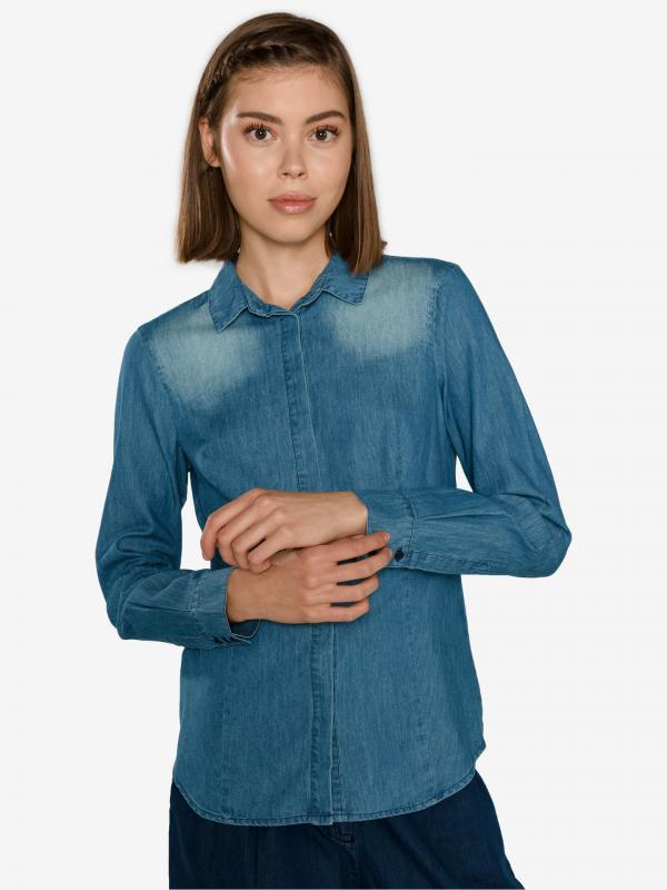 Košile Fracomina Modrá