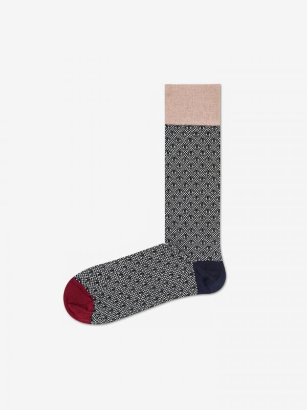 Dressed Eye Ponožky Happy Socks Černá