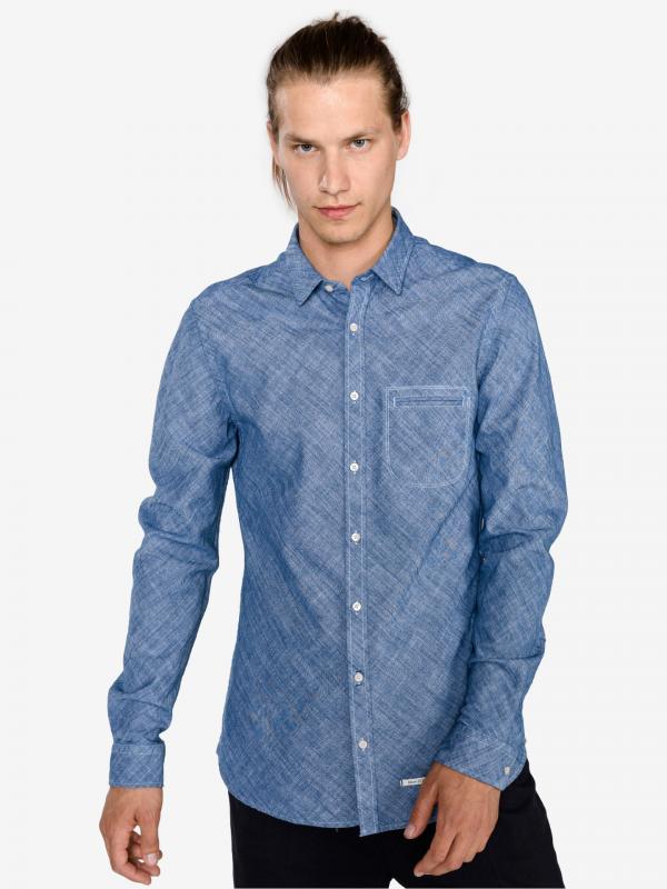 Košile Marc O'Polo Modrá