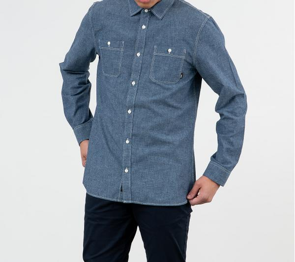 Vans Carlow Longsleeve II Shirt Dress Blues
