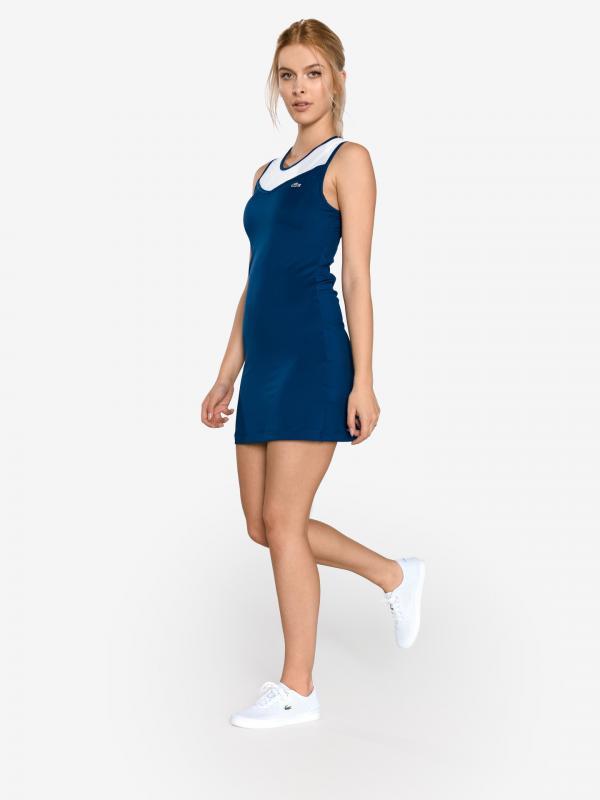 Šaty Lacoste Modrá