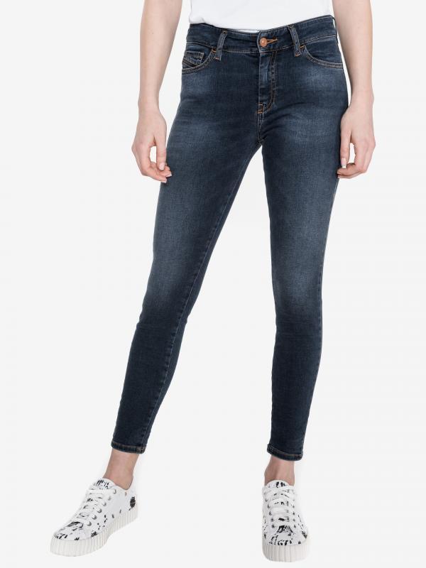 Slandy Ankle Jeans Diesel Modrá