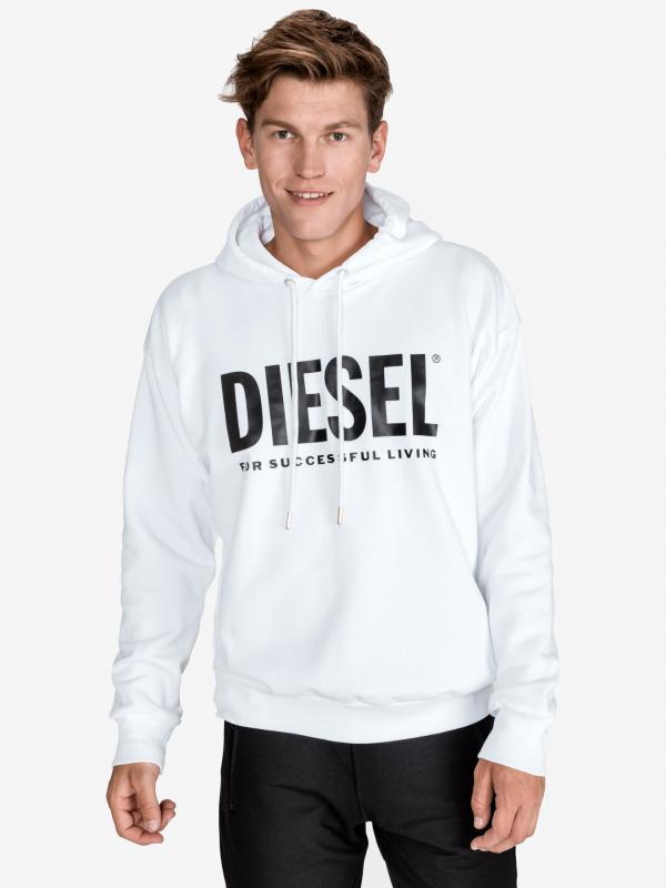 S-Division Mikina Diesel Bílá