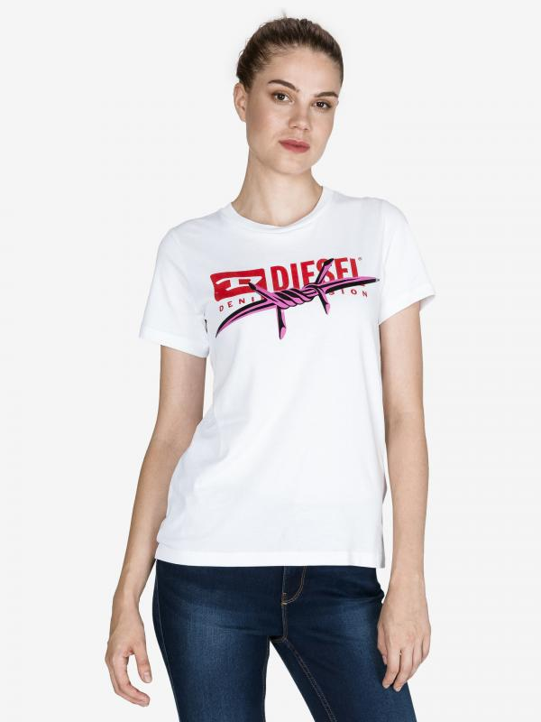 T-Sily-Zc Triko Diesel Bílá