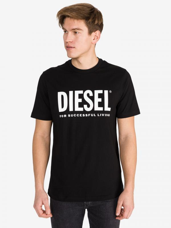 T-Just Triko Diesel Černá
