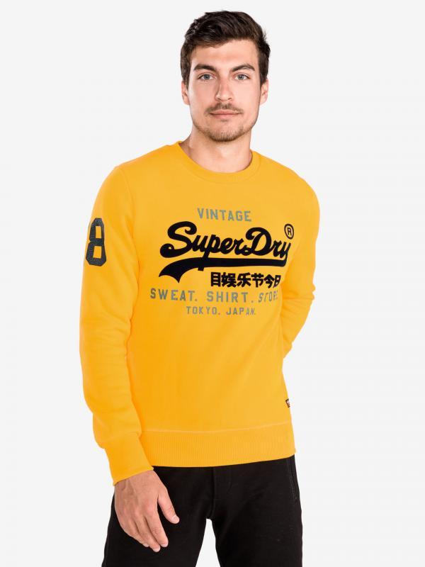 Mikina SuperDry Žlutá
