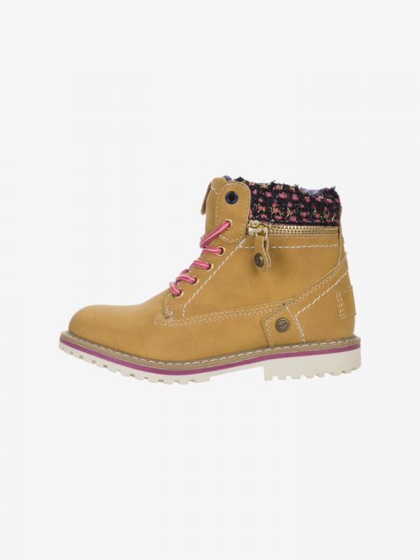 Creek Zip Kotníková obuv dětská Wrangler Žlutá