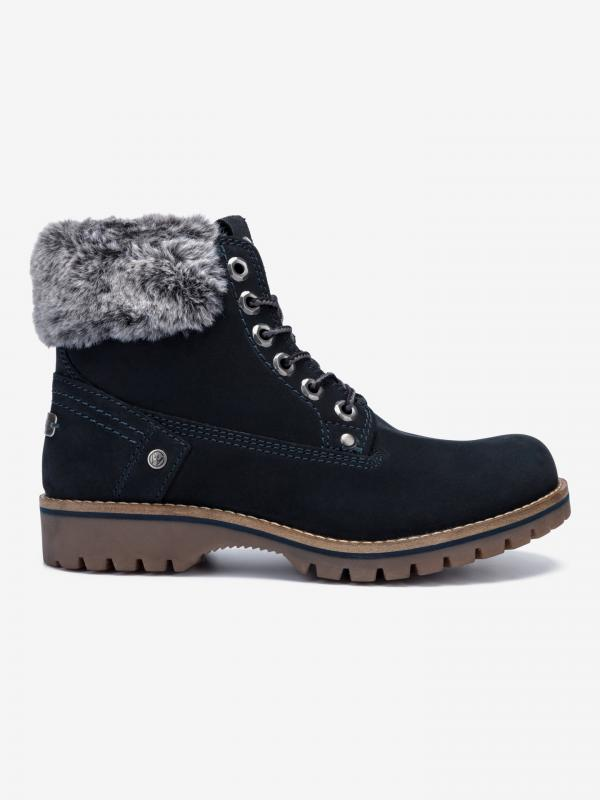 Alaska Kotníková obuv Wrangler Černá