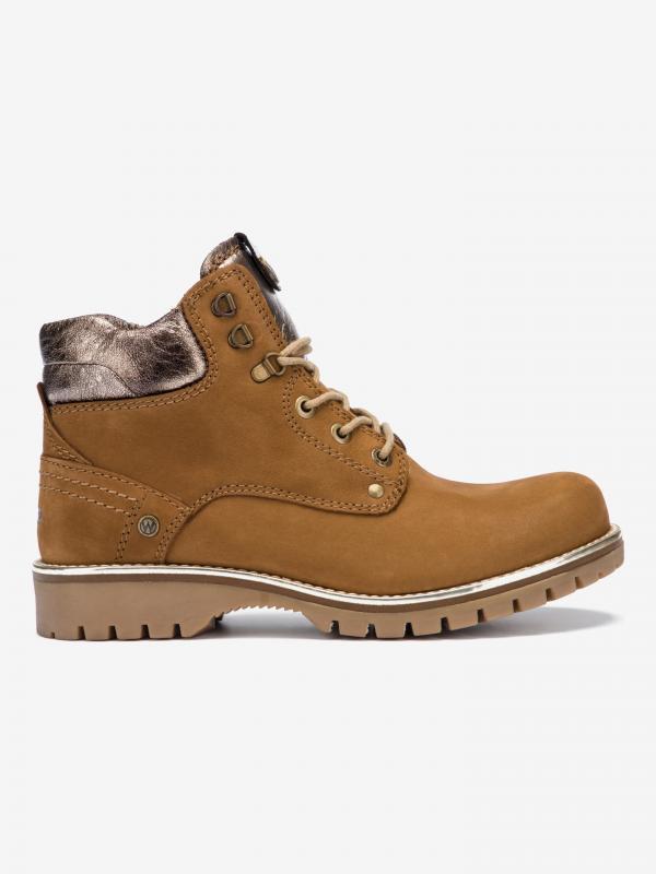 Alaska Kotníková obuv Wrangler Hnědá