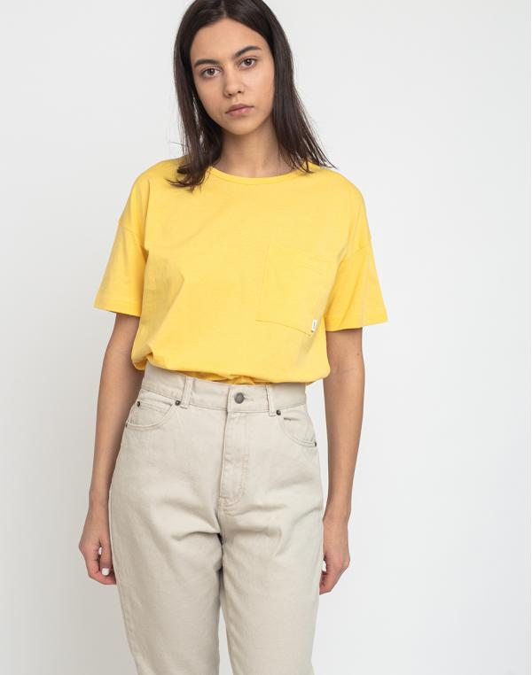 Makia Dusk T-Shirt Yellow S