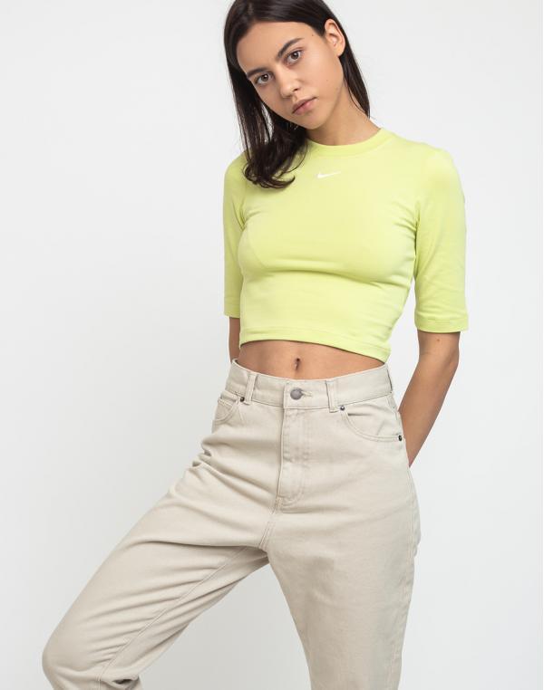 Nike Sportswear Essential Top Limelight/White M