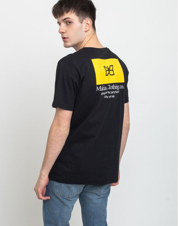 Makia Barrier T-shirt Black M