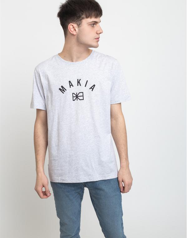 Makia Brand T-Shirt Light Grey S