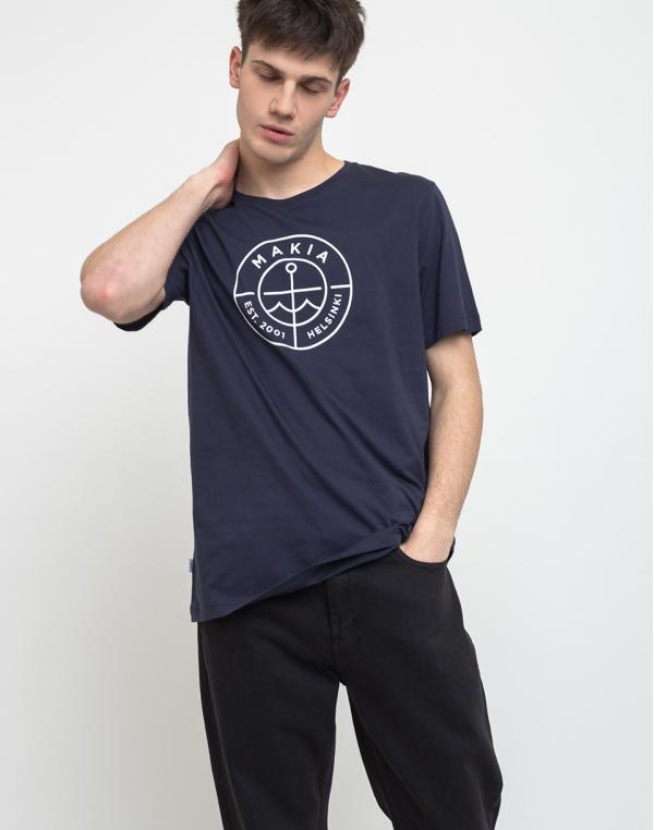 Makia Scope T-Shirt Dark Blue S