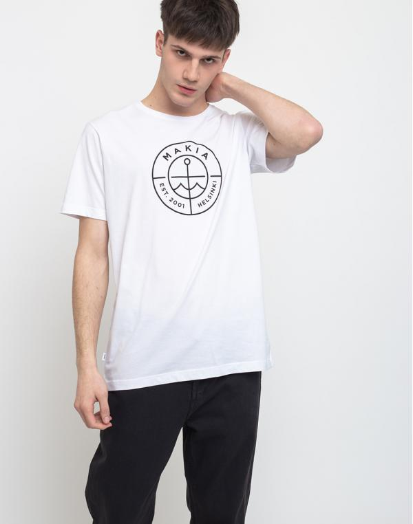 Makia Scope T-Shirt White S