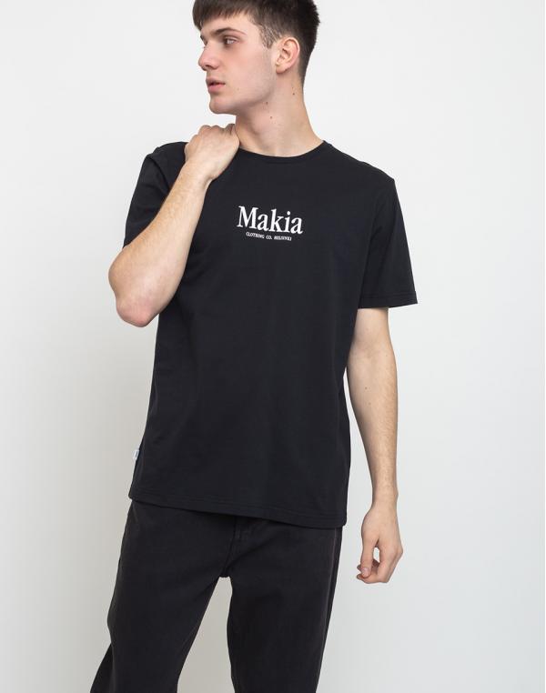 Makia Strait T-Shirt Black S
