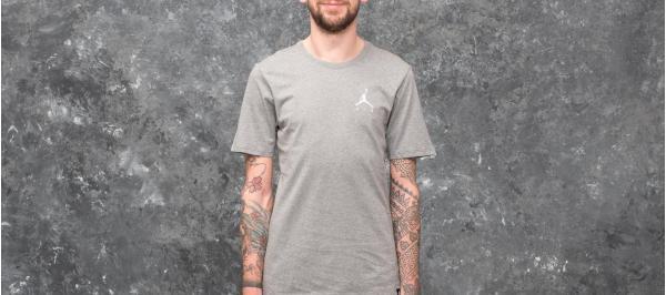 Jordan Sportswear Jumpman Air Embroidered Tee Grey