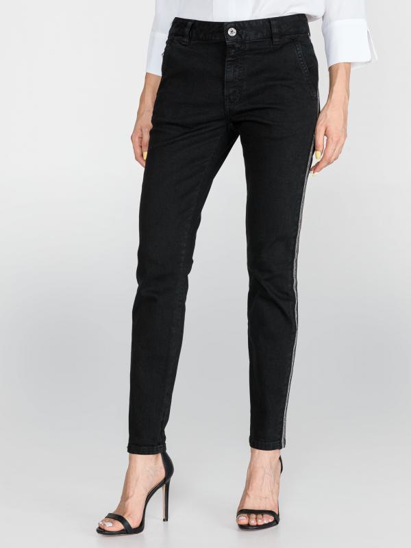 Jeans Just Cavalli Černá