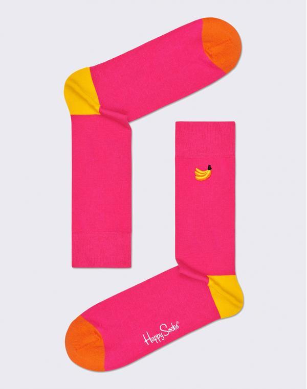 Happy Socks Embroidery Banana BEBA01-3300 36-40