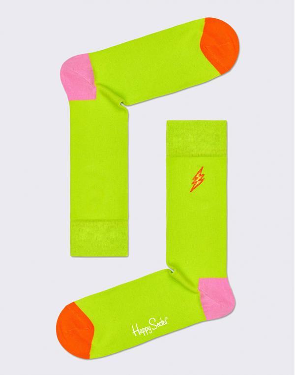 Happy Socks Embroidery Flash BEFL01-7000 36-40