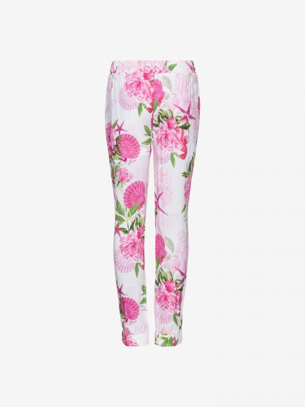 Kalhoty dětské Guess Růžová