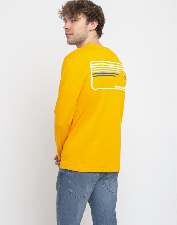 Knowledge Cotton Sallow Signature Wave Long Sleeve 1306 Zennia Yellow S