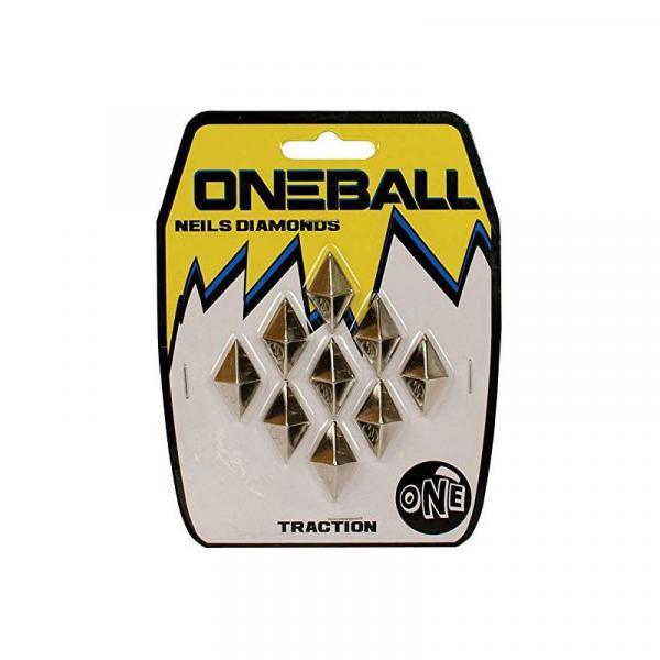 ONE BALL JAY NEILS DIAMONDS-METAL 1/2x9 - šedá