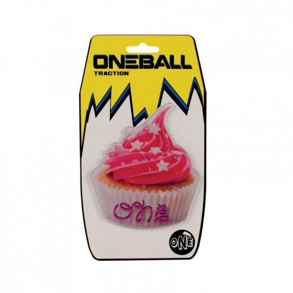 ONE BALL JAY CUP CAKE - CLEAR SPIKES - růžová